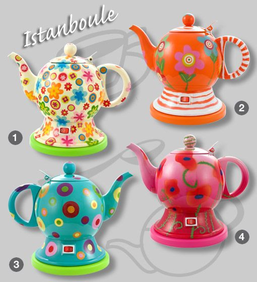 Coolest kettle on the planet from Pylones....sadly only available in France :(