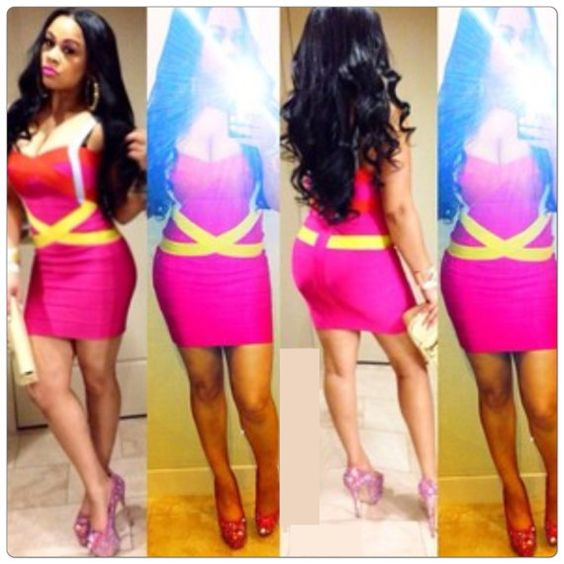 New Spring Summer Red Bandage Dress Sexy Mini sleeveless bodycon Club Dresses Lileele