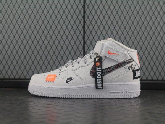"Just do it ""Nike Air Force 1 Mid AQ8650 100 | Jordan Shoes"