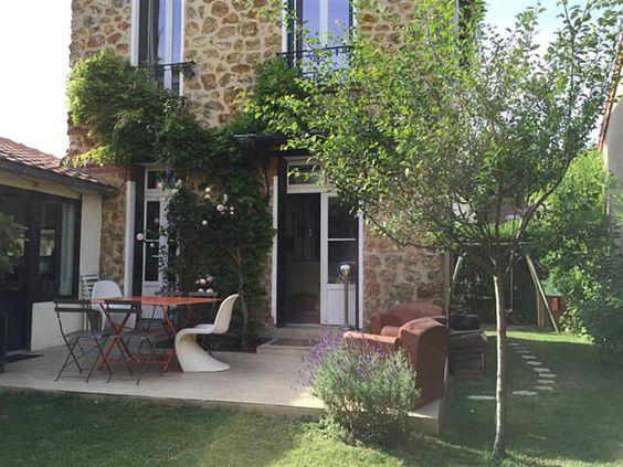 Bureaux cuisine and salons on pinterest for Extension cuisine sur jardin