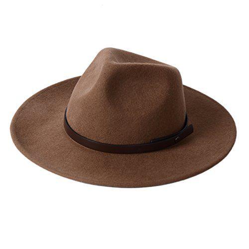 Western Cowboy Hat Wool Felt Brown Man S Crushable Wide B Https Www Amazon Com Dp B0751bh9dx Ref Cm Sw R P Cowboy Hats Wide Brim Felt Hat Felt Cowboy Hats