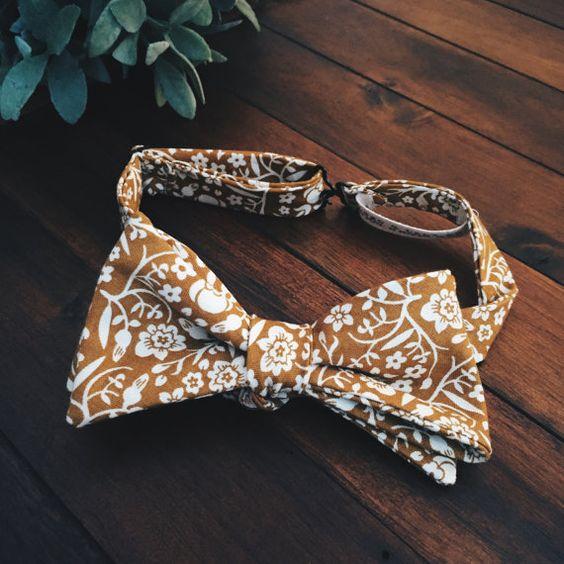 Bow Tie || Manderly Mustard