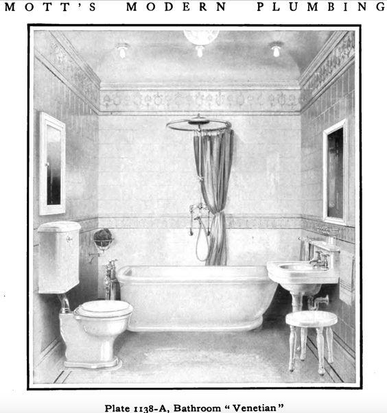 Laurelhurst Craftsman Bungalow: Mott's 1914 Plumbing Catalog