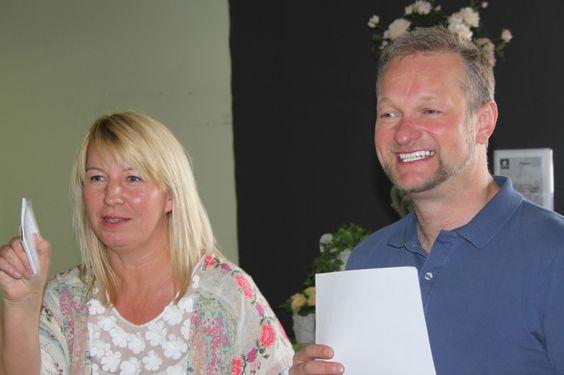 Azubi-Wettbewerb mit Arne Bruns und Imke Reidebusch - Abholmarkt Vosteen, Juni 2015