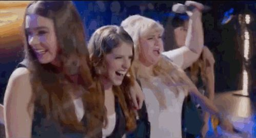 "The Bellas are just having fun, playing and singing. And all is right in the world again. | The First ""Pitch Perfect 2"" Trailer Brings Back Your Favorite Song"