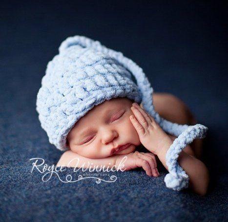 Image of Blue Elf Hat