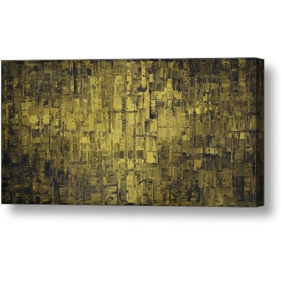 Giclee PRINT on Canvas Large Abstract Art Landscape Olive Green Modern... (¥6,770) ❤ liked on Polyvore featuring home, home decor, wall art, canvas wall art, landscape wall art, giclee wall art and canvas home decor