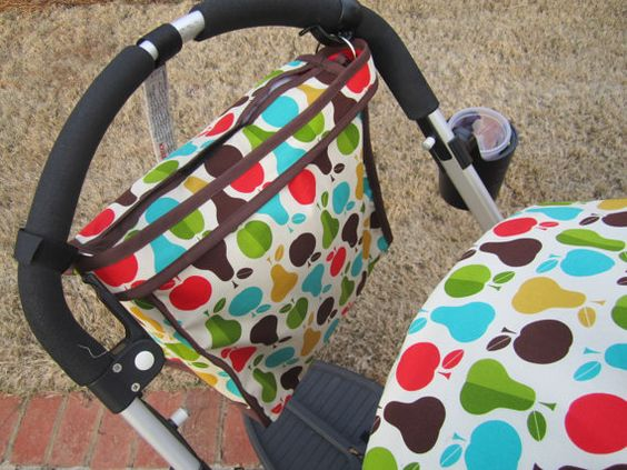 Custom Bugaboo Stroller Hanging Diaper Bag  by DreamTicketBoutique, $39.00