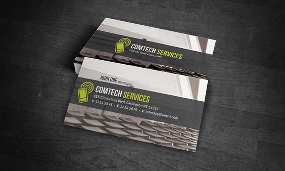 Free Business Card Template Computer Repair Business Free Business Card Templates Free Business Cards