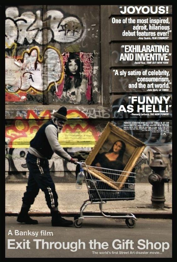 Exit Through the Gift Shop (2010): Movie Poster, Artist At Work, Gift Shops, Artist Turn, Favorite Film, Graffiti Artists