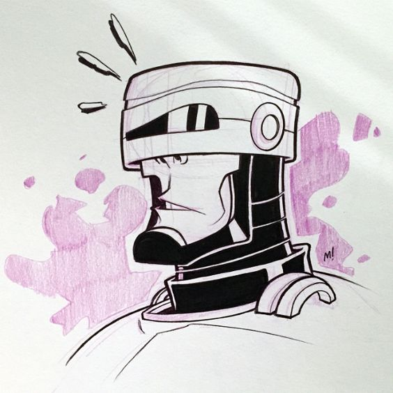 Robocop by Zatransis.deviantart.com on @DeviantArt