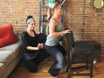 Inner Thigh Barre Workout w/ Lauren Hefez and Sarah Dussault