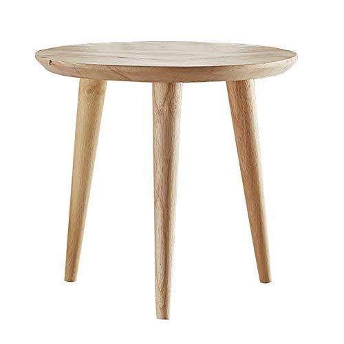 Amazon Com Small Round Coffee Tables Wooden End Table Nesting