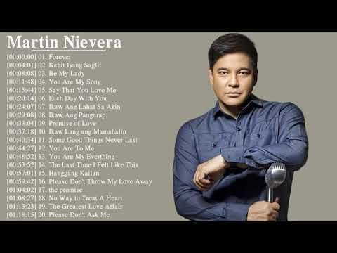 Martin Nievera Nonstop Songs 2018 Best Opm Tagalog Love Songs Playlist 2018 Youtube In 2021 Love Songs Playlist Song Playlist Christmas Songs Playlist