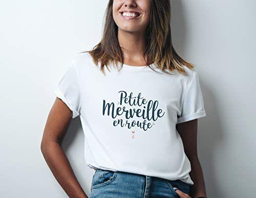 Maman Loading Cadeau Dannoncer La Grossesse T-Shirt