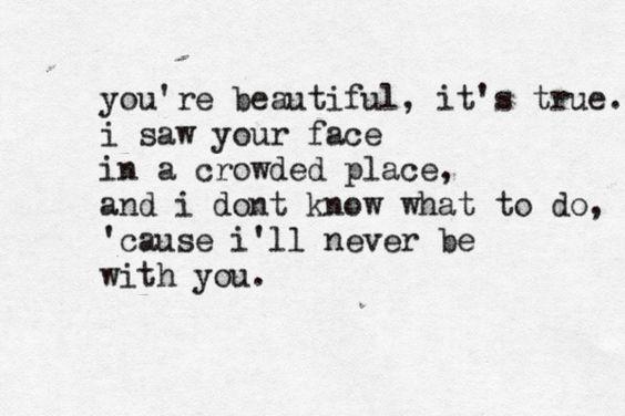 You're Beautiful - James Blunt  sailboatstonostalgia: Beautiful Lyrics, Blunt Beautiful, Music Lyrics, Musickal Lyricks, Beautiful It S, Song Lyrics, Decrepit Lyrics