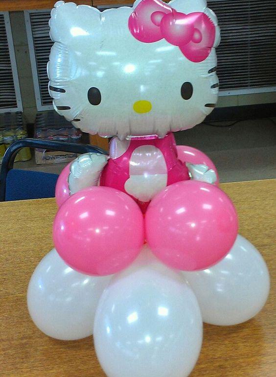 Hello kitty party my balloonoonie creations pinterest