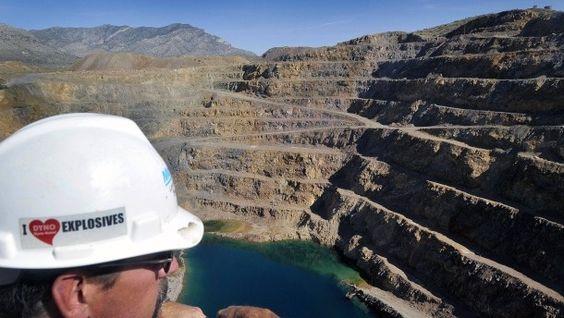 Die zu Molycorp gehörende Mine Mountainpass