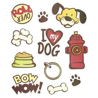 Dog Icon Stickers