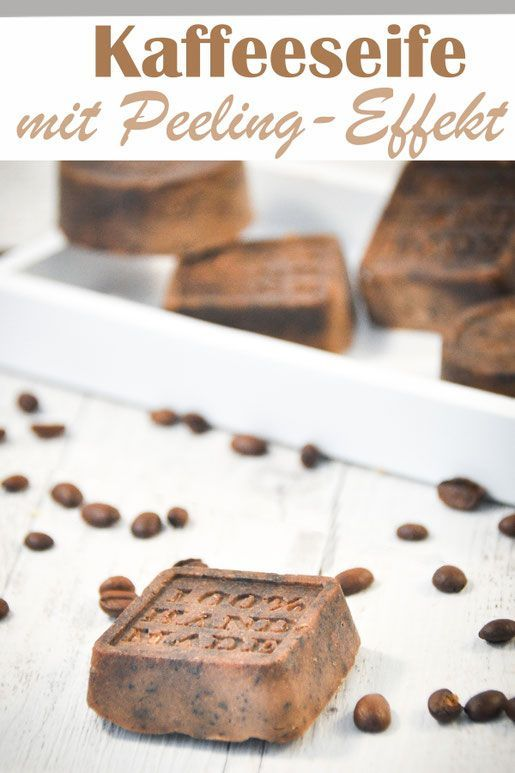 Kaffee Seife Mit Peelingeffekt Fur Die Dusche Kaffee Seife Selbstgemachte Geschenke In 2020 Kaffee Seife Smoothie Rezepte Mit Joghurt Seife Selber Machen Rezept