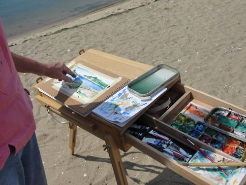 from my outdoor painting class yesterday