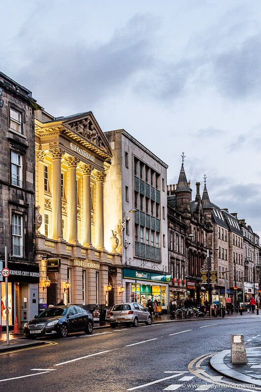 High Street in Inverness, Scotland. This city is one of the most underrated places to visit in Scotland. Click through for more pictures on the A Lady in London blog. #scotland #inverness