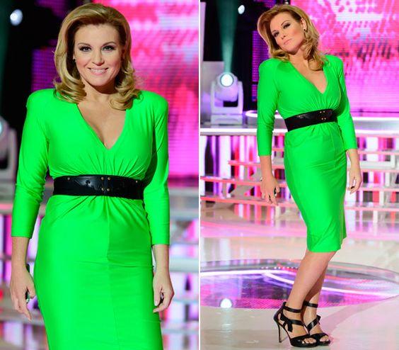 Liptai Claudia rikító ruhában vonta el a figyelmet A Nagy Duett versenyzőiről | femina.hu