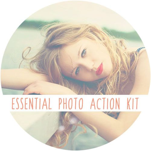 Envye Essentials Action Kit for Photoshop CS and Elements