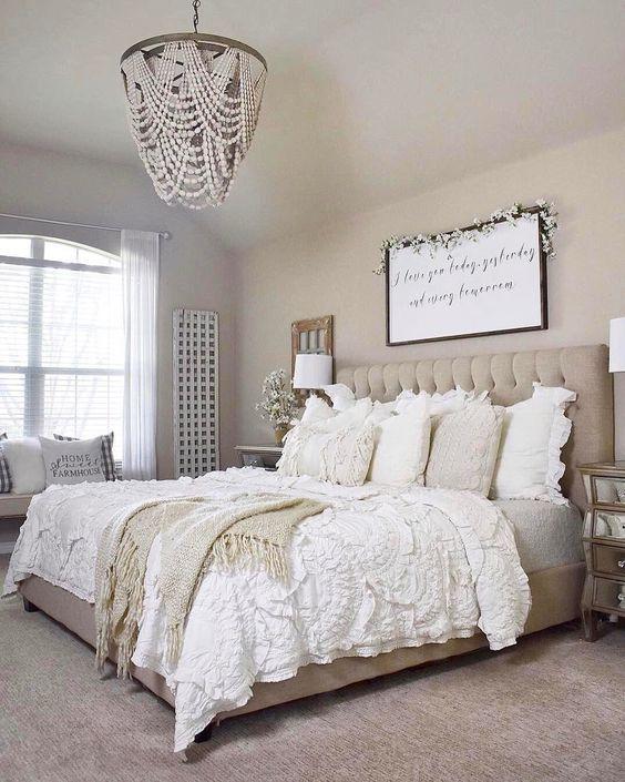 Budget Friendly Bedroom Overhaul Boujee On A Budget Design Farmhouse Bedroom Decor Master Bedrooms Decor Bedroom Decor