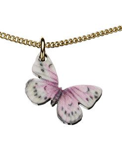 accessorize teeny butterfly pendant necklace £4