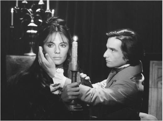 Jean-Pierre Léaud with Jacqueline Bisset in Day for Night (Truffaut)