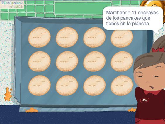 Fracciones con pancakes
