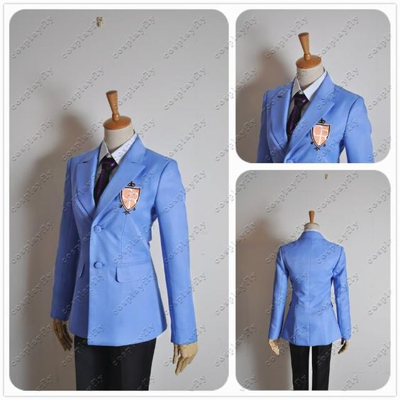 Ouran High School Host Club cosplay!! What ima be wearing for halloween! WOOO!! So excited (: <3 <3 <3