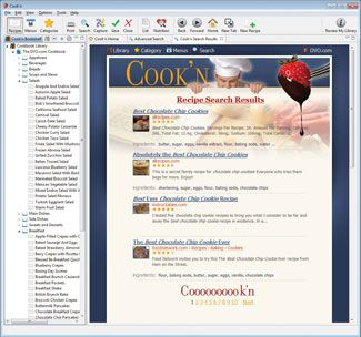 Use the Cook'n search feature to find and capture all your favorite recipes from the internet