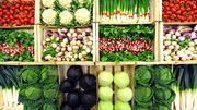 Lende mit Rhabarber-Gemüse. Sehr lecker auch, wenn man den Rhabarber durch Spargel ersetzt.