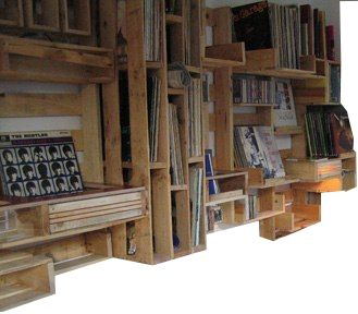PALLET WALL SHELVES | Store displays, Wall shelves and Pallet walls