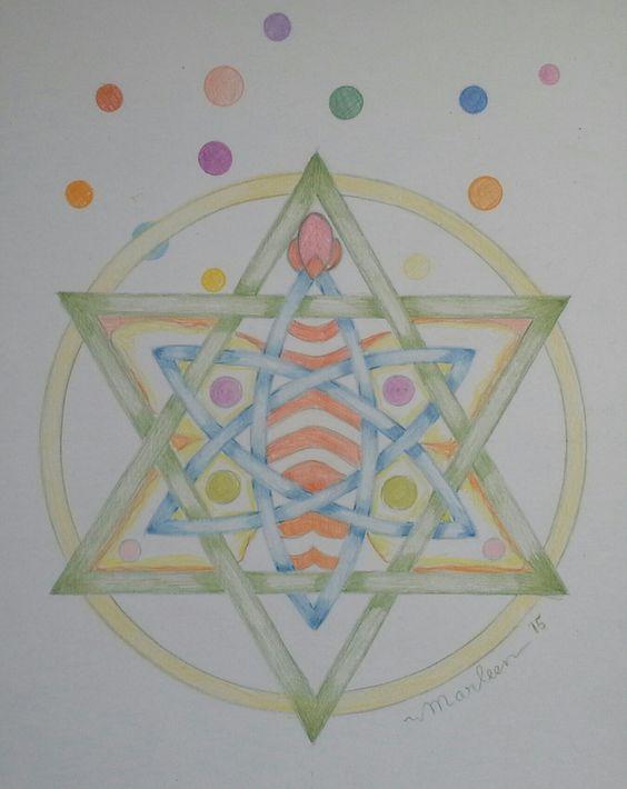 """Mandala  """"Harmonie """" , Marleen Peskens"""