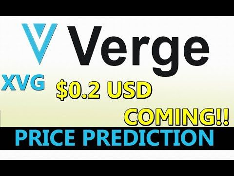 verge cryptocurrency stock price