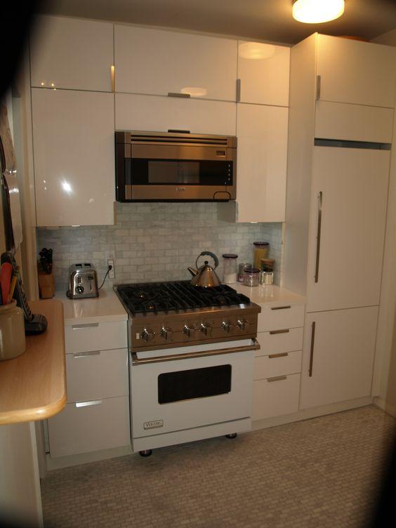 Viking Liebherr Bosch White Kitchen Suite IKEA High