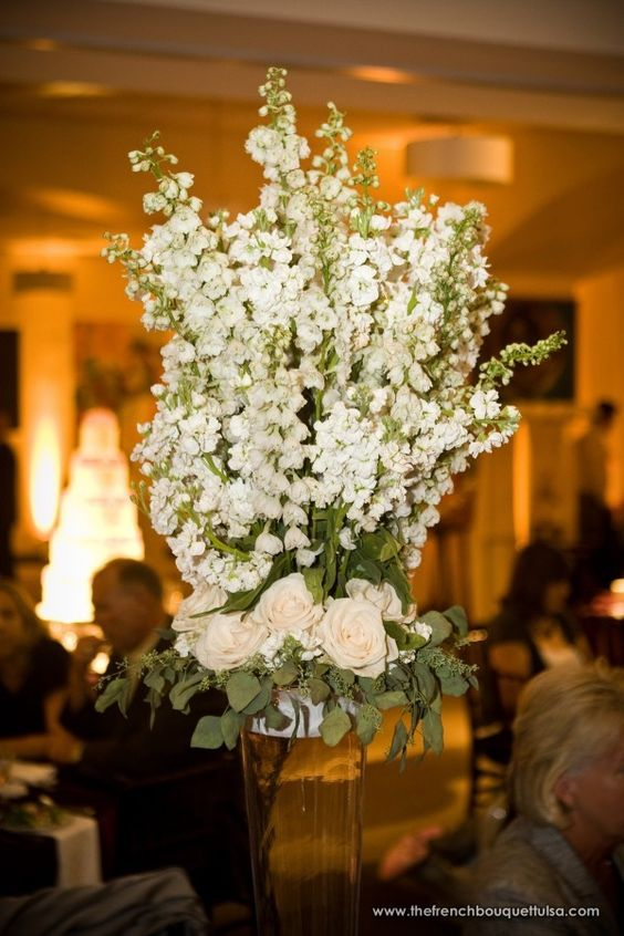 Tall vase wedding centerpieces centerpiece in clear