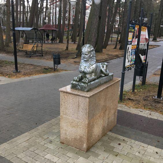 Сфинск вблизи. Фото: Vladimir Shveda