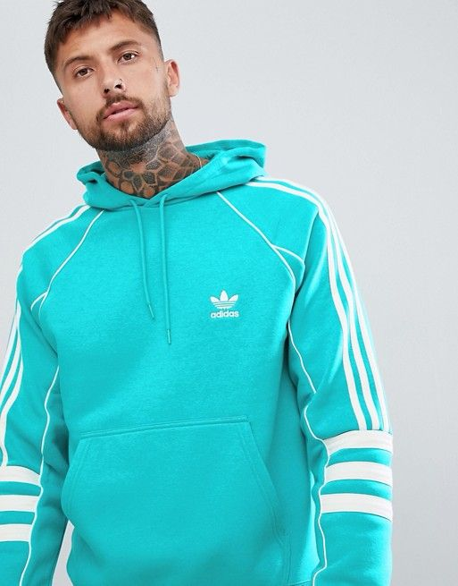 official shop lower price with best price adidas Originals Authentic Hoody In Green DH3853 in 2019 ...