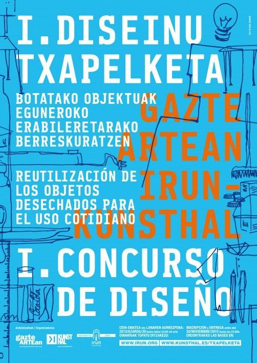 I.DISEINU TXAPELKETA /I CONCURSO DE DISEÑO KUNSTHAL