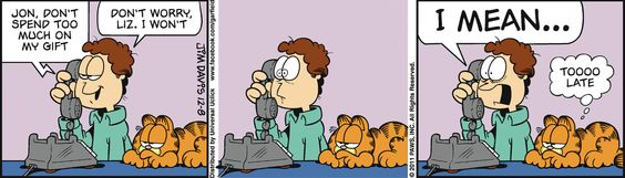 jon and garfield