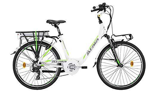 Atala Citybike Elettrica Pedalata Assistita E Run Fs Lady Misura Unica 45cm Statura 150 175 Cm 6 Velocita Colore Nel 2020 Pedalo Lady Bicicletta Elettrica