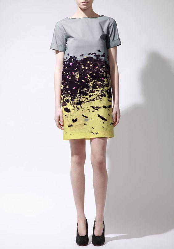 Cacharel / Printed Cotton Dress