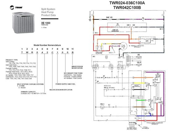 trane heat pump wiring diagram twn042c100a4 last edited by