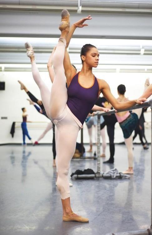Misty Copeland (looks so easy for her)