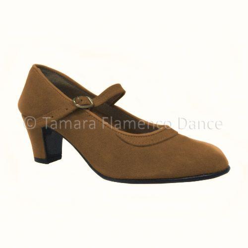 Zapato semiprofesional de flamenco piel de ante  / Semi professional suede flamenco shoes    https://www.tamaraflamenco.com/es/zapatos-de-ensayo-semiprofesionales-8