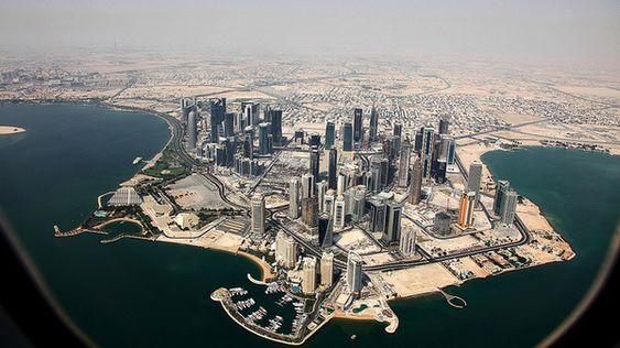 Downtown Doha, Qatar